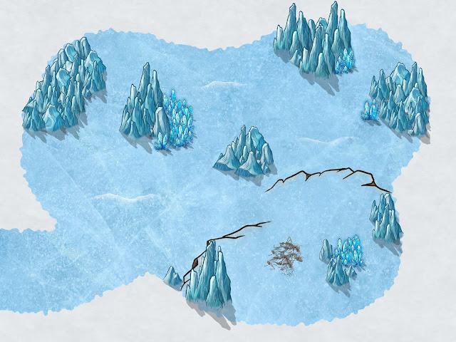 Aventura de Navidad para Dungeons & Dragons - La Frontera del Invierno (4ª Parte) - Nido Remorhaz