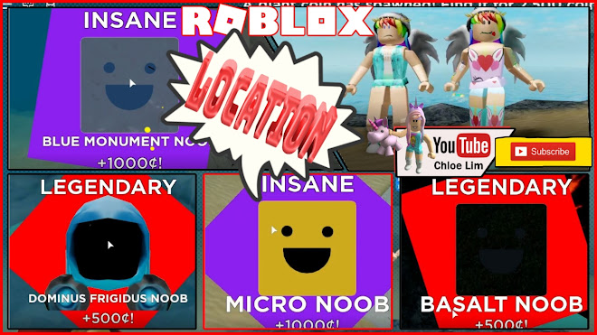 Roblox Find the Noobs 2 Gameplay! Going to Deep Sea! All 56 Noobs Locations!