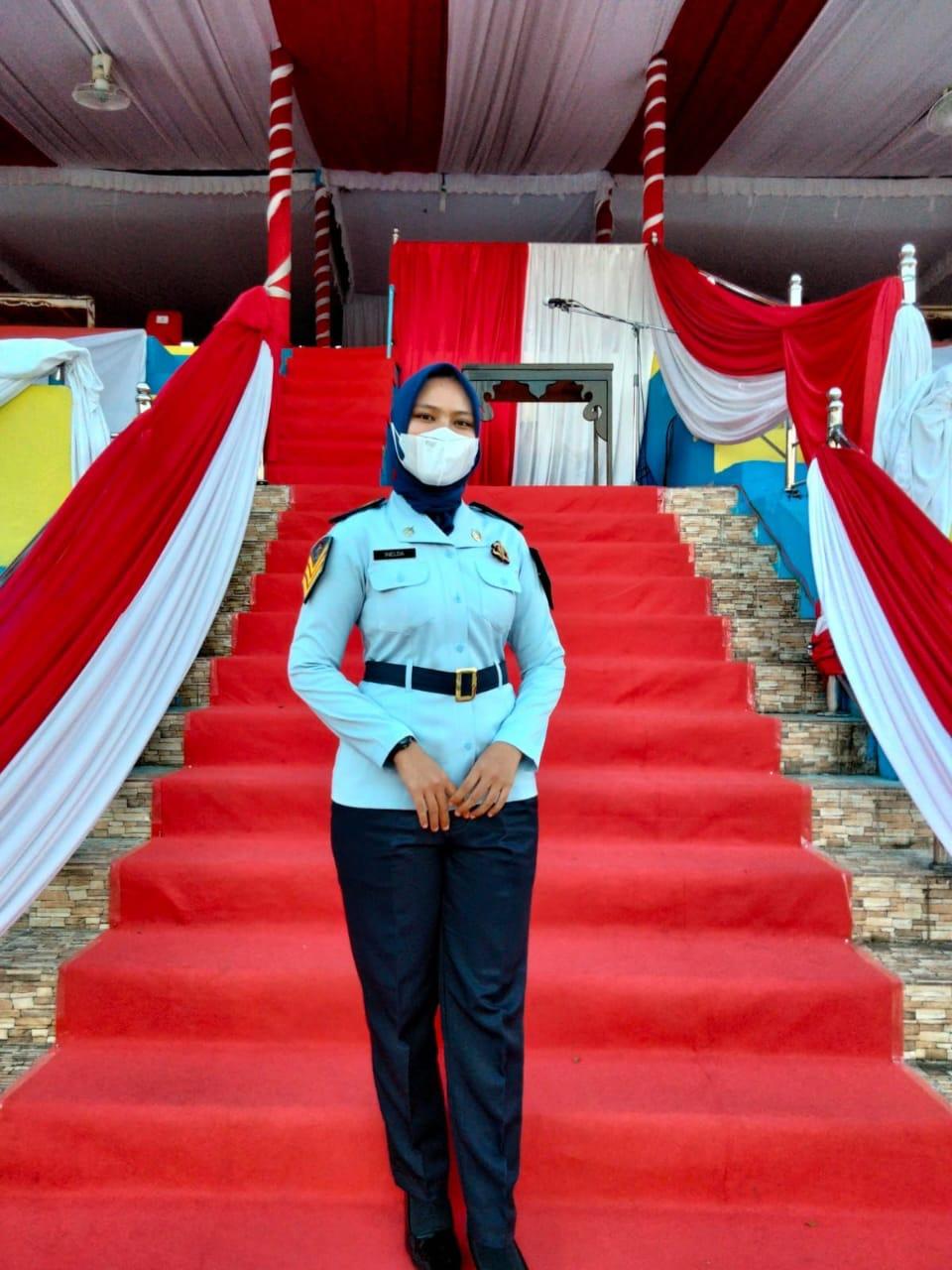 Imelda Dwi Jayanti Mahasiswa Politeknik Ilmu Pemasyarakatan Jurusan Manajemen Pemasyarakatan.
