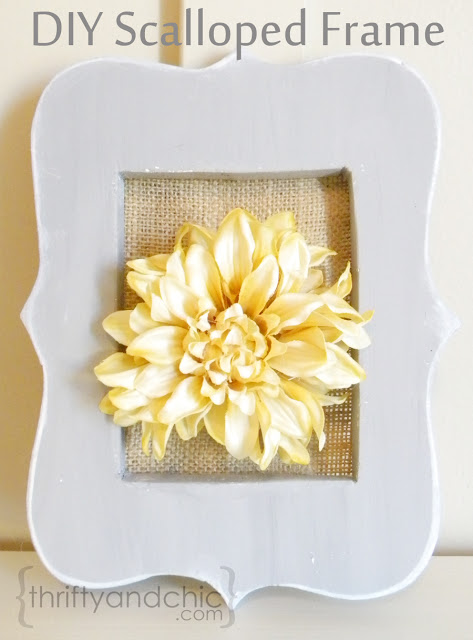 http://www.thriftyandchic.com/2012/11/diy-scalloped-frame.html