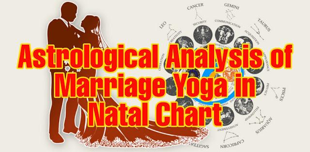 Astrological Analysis of Marriage Yoga in Natal Chart