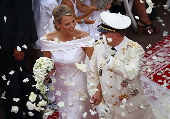 princess prince monaco wedding - Casamento Real - Principe Alberto ♥ Charlene Wittstock
