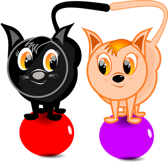 Gambar Kartun Kucing PNG