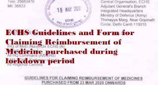 echs-guidelines-and-form-for-claiming-reimbursement-of-medicine