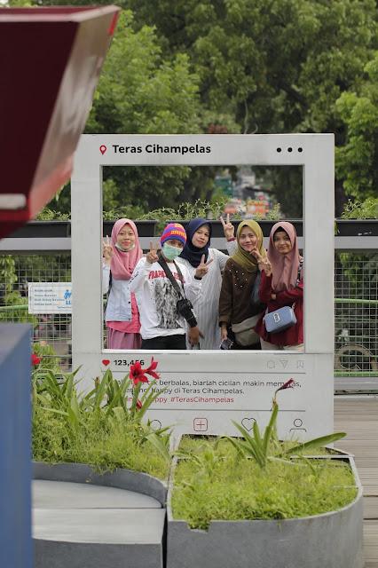 Jadi Baru Kebumen 2018 Tour To Bandung, Best Momen- foto terbaik di teras cihampelas bandung