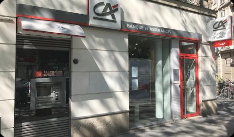 Agence Crédit Agricole (Paris)