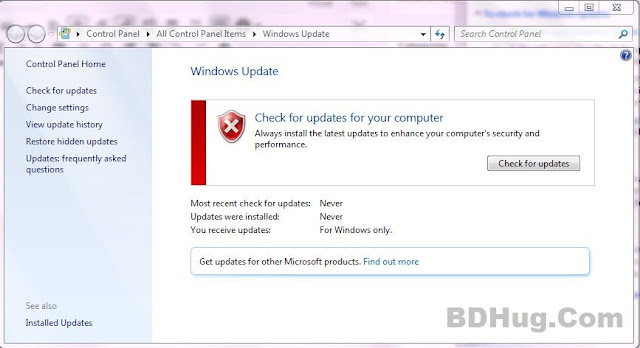 Turn On Windows Updates And Why?
