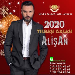 Meyra Palace Hotel Ankara Yılbaşı Programı 2020 Menüsü