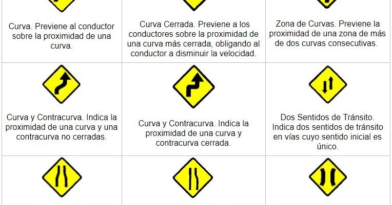 Señales De Tránsito Preventivas Y Su Significado 2021