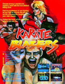 Karate Blazers ( Arcade )