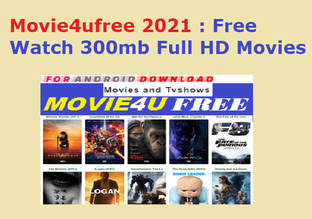 Movie4ufree 2021