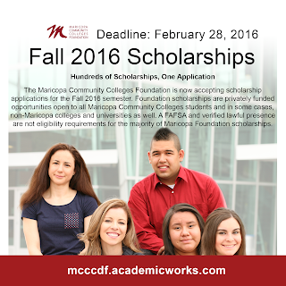 snapshot of scholarship flier, featuring past scholars.  text available in blog.