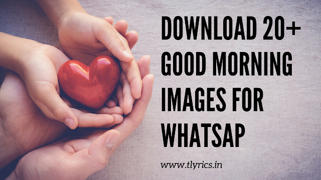 20+ Good Morning Images / Photos download for Whatsapp