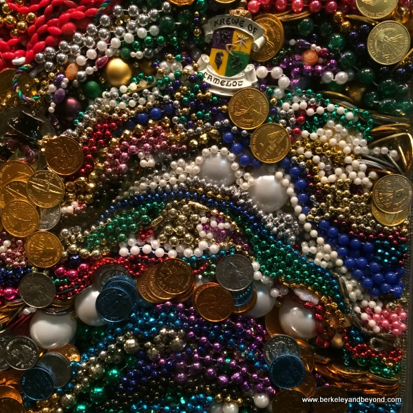 Mardi Gras beads, Lake Charles, Louisiana