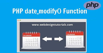PHP date_modify() Function