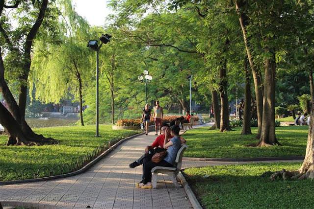 Hanoi Hoan Kiem See