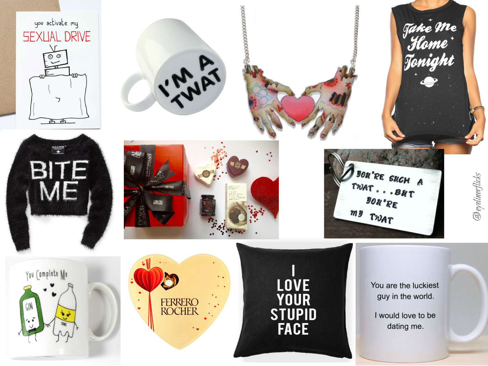Valentines Day Gift Guide www.eyelinerflicks.com