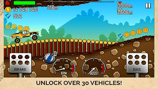 Hill Climb Racing Mod Apk For Android
