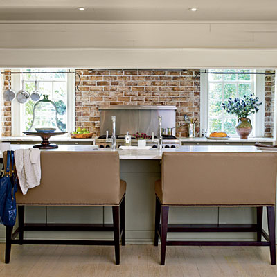 In your back pocket bench seating - Kitchen island with bench seating ...