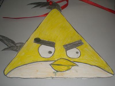 Chang Siew Yee Topeng Angry Bird