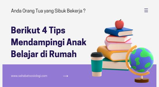 Tips mendampingi anak belajar online