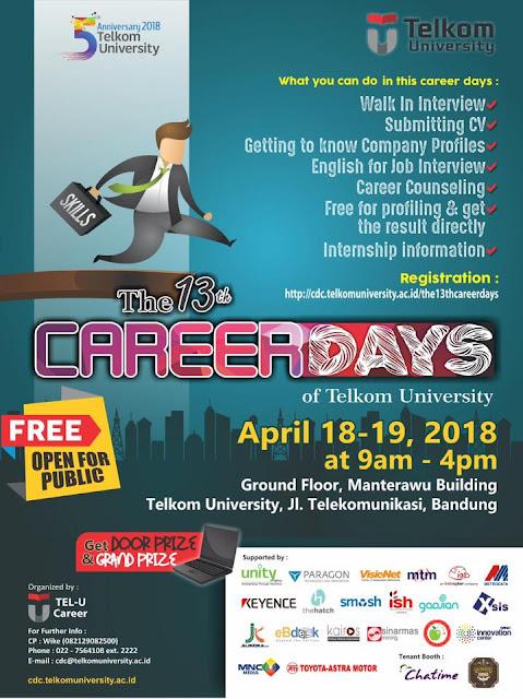 Job Fair Gratis Bandung 2018