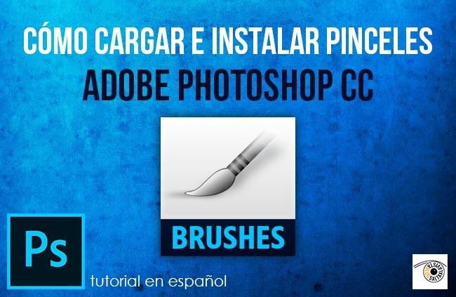 Tutorial en Español de Cómo Cargar e Instalar Pinceles en Adobe Photoshop