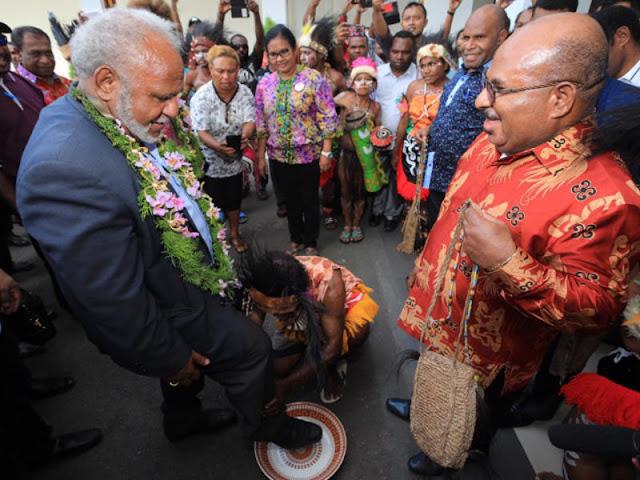 Peter Yama Kunjungi Provinsi Papua Guna Pererat Kerjasama Ekonomi