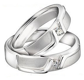 Cincin Couple Titanium