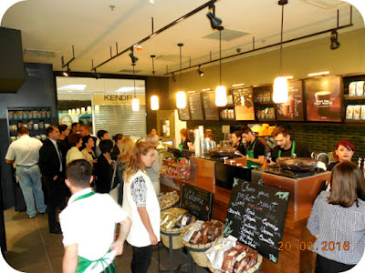 Gata, s-a deschis Starbucks in Craiova