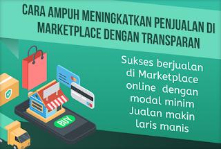 Panduan berjualan di Marketplace dengan transparan