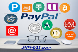 """شرح تحويل الرصيد بين البنوك والعملات الرقمية """" Payeer to PayPal """""""
