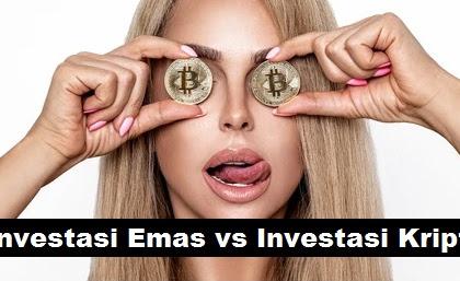 5 Perbedaan Investasi Emas vs Investasi Cryptocurrency