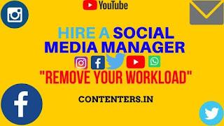 Hire a Social Media Manager/s - Instagram, Facebook, Twitter, Linkdin, SnapChat, Tiktok