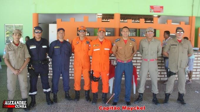 Capitão Mayckel da 5ª CIBM é promovido a Major do Corpo de Bombeiros Militar