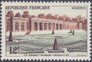 France Palace of Versailles 1956