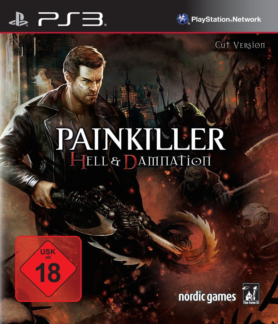 Painkiller Hell And Damnation PS3 ISO