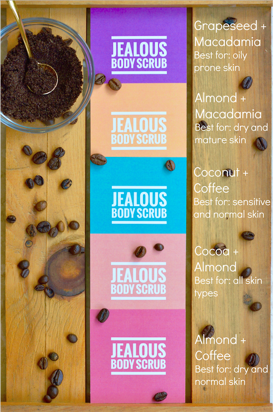 jealous body scrubs organic