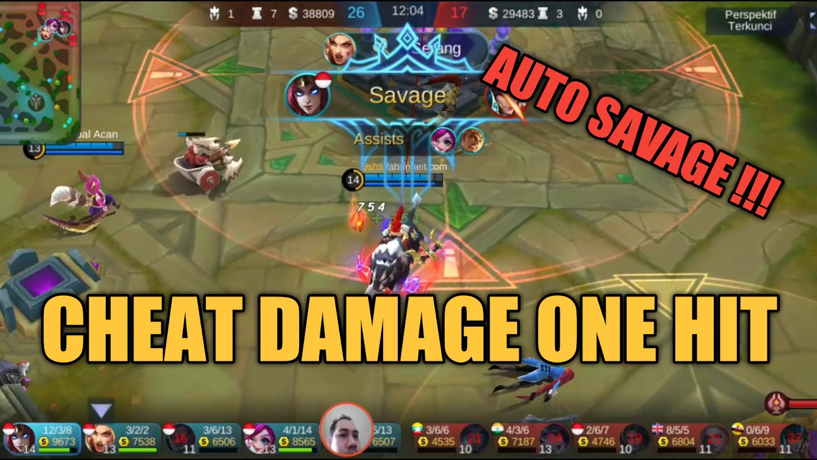 Script Damage Up 99% All Hero Mobile Legend (Auto Sakit  Auto Savage)