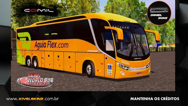 COMIL 1200 6X2 - VIAÇÃO ÁGUIA FLEX