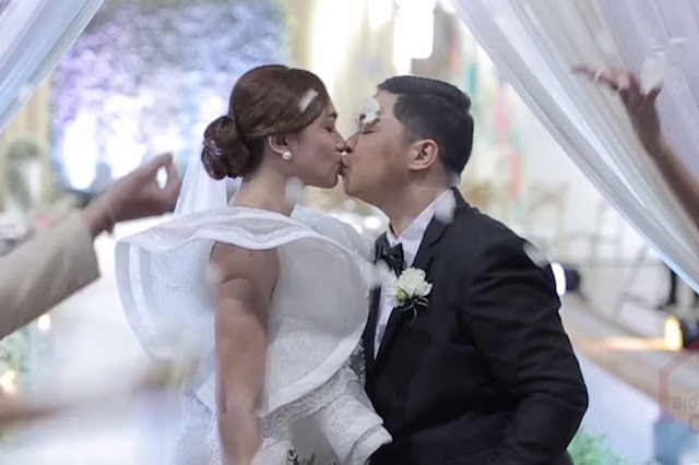 PBB Otso: Mitch tied the knot with her partner inside the PBB house.