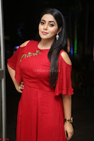 Poorna in Maroon Dress at Rakshasi movie Press meet Cute Pics ~  Exclusive 25.JPG