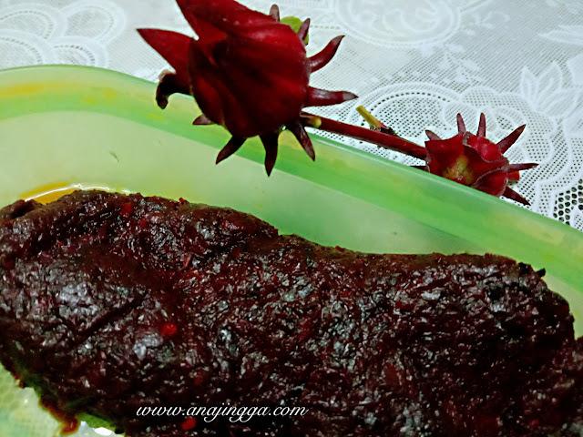 sambal buah roselle