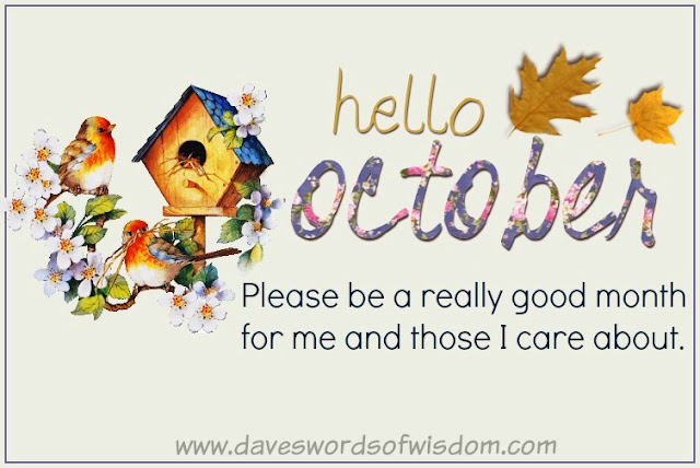 Image result for Welcome October Quotes