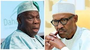 President Muhammadu Buhari and Obasanjo