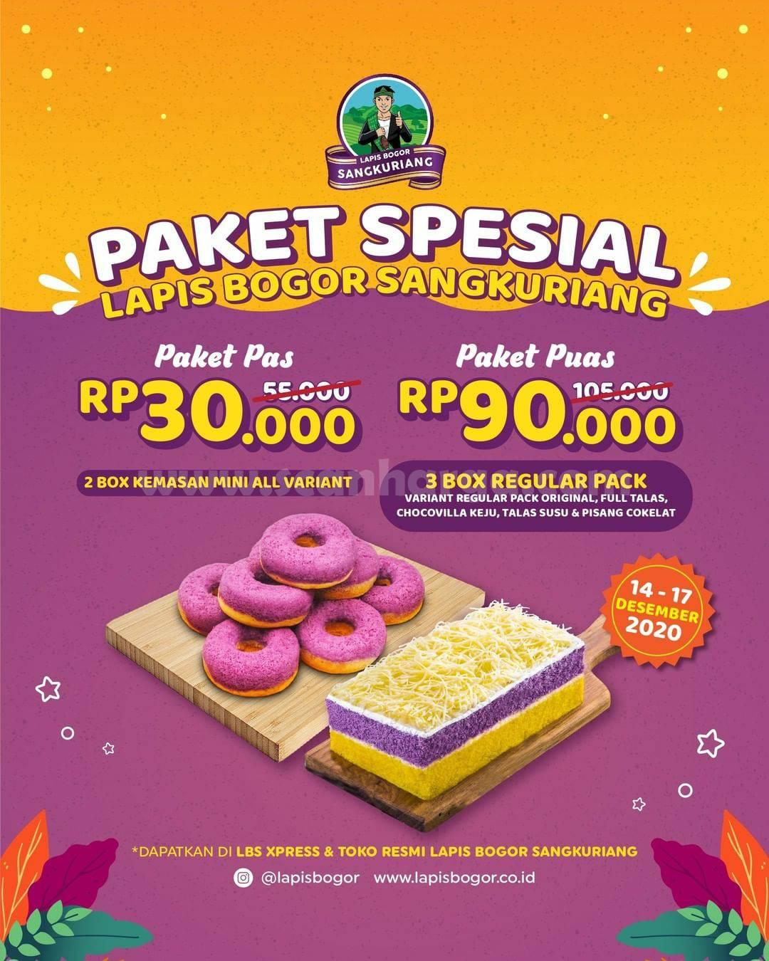 Promo Lapis Bogor Sangkuriang Paket Spesial Weekday Harga Mulai Rp 30.000