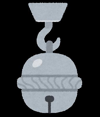 銀の鈴のイラスト