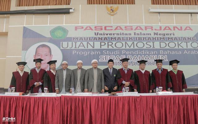 Al Habib Segaf Baharun Raih Caumlaude Doktoral, Dalwa Gelar Tasyakuran