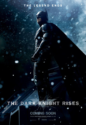 "The Dark Knight Rises ""The Legend Ends"" Character Movie Poster Set - Christian Bale as Batman"