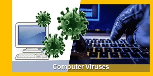 contoh virus komputer